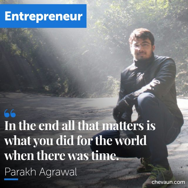 Parakh Agrawal's Quote