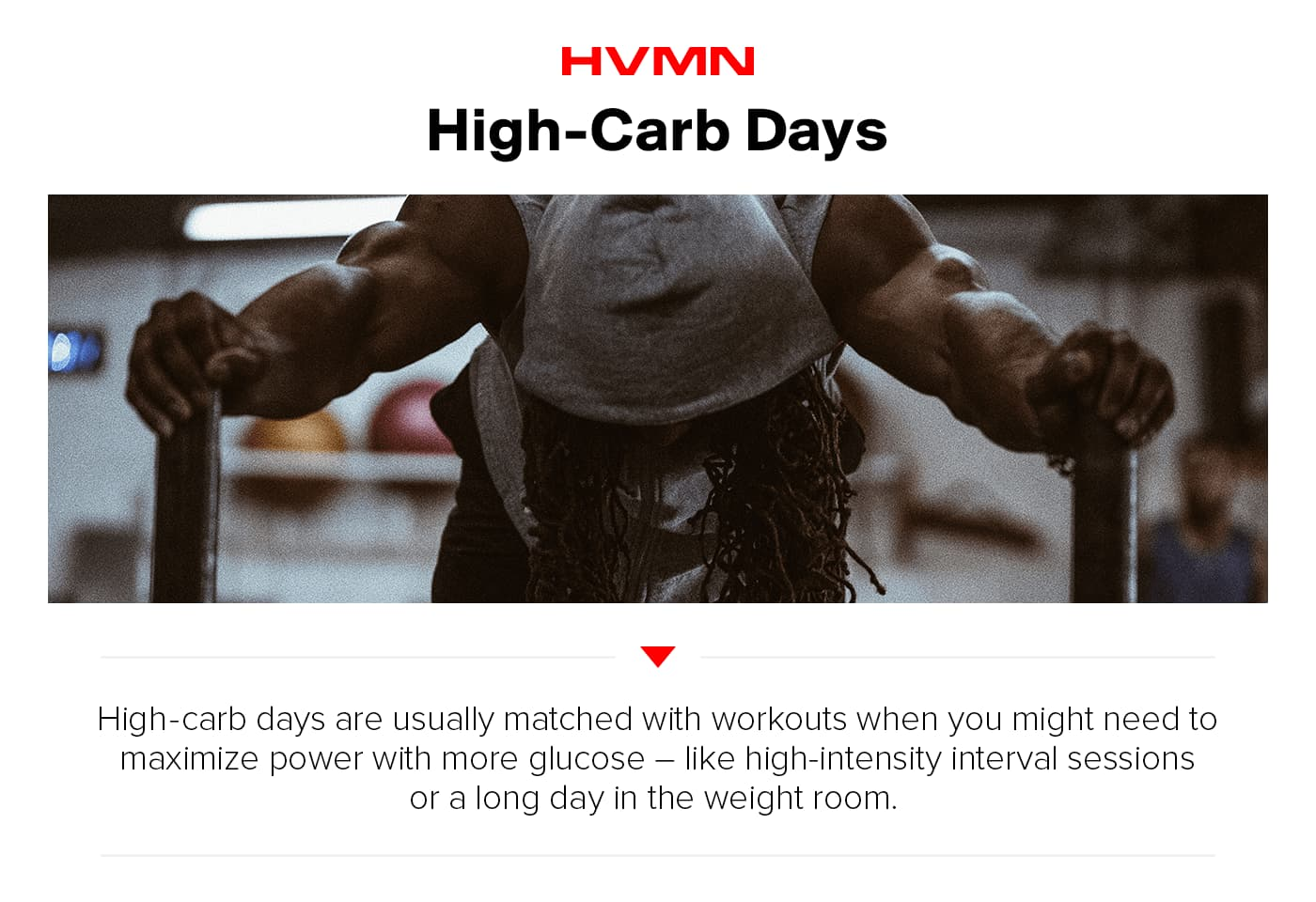 HVMN Carb Cycling Guide 2