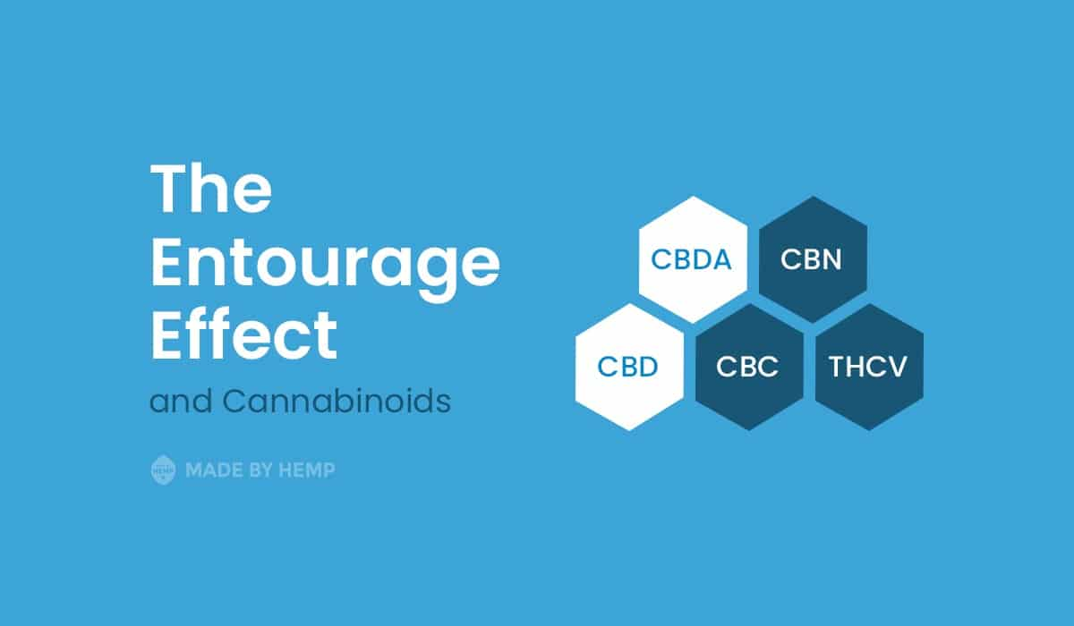 Entourage Effect CBD products and Cannabinoids