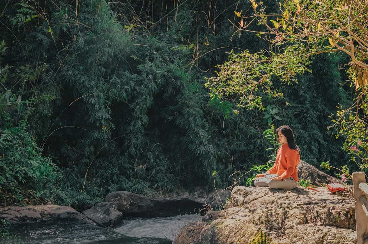 Mental Health Habit - Meditate